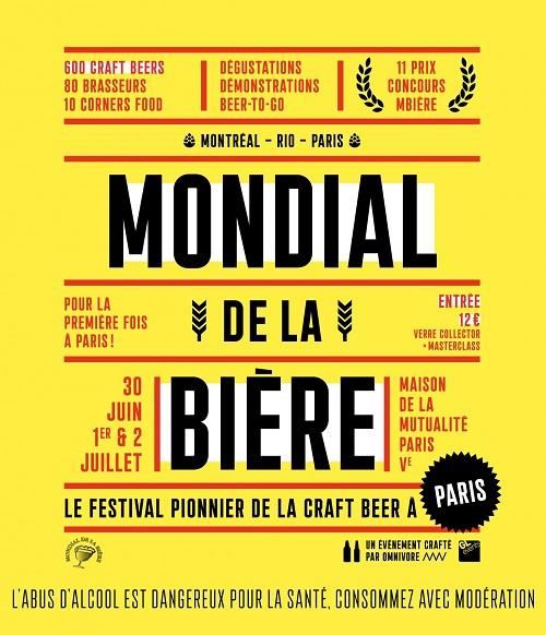 Ico pr sent au mondial de la bi re paris ico marking for Salon de la biere paris 2017